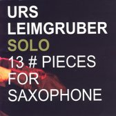 13 Pieces For Saxophone