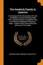 The Goodrich Family in America