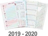 Kalpa 6218-19-20 Personal-Standaard organiser week agenda Dreamnotes EN-NL 2019-2020