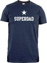 Vaderdag T-shirt | super dad | maat L