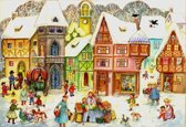 Adventskalender 734 Adventkalender 24 vakjes