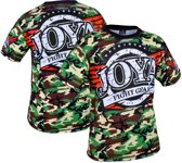 Joya T-Shirt Camo Groen-XL