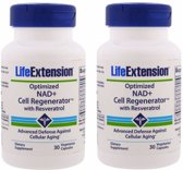 Optimized NAD+ Cell Regenerator™ With Resveratrol, 30 Capsules, 2-pack