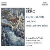 Berg:Violin Concerto.Lyric Sui