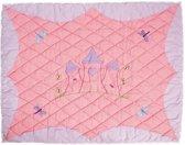 Prinsessen speeltent,  Princess Castle Floor Quilt Large (Win Green)