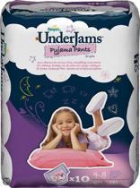 Pampers Underjams - Luierbroekjes S/M girl 4 x 10 stuks