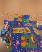 Winnie the Pooh Dekbedovertrek - 1-persoons - 140x200 cm - Multi