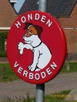 Bord Honden verboden