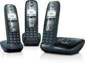 Gigaset A475A - Trio DECT telefoon - Antwoordapparaat - Zwart