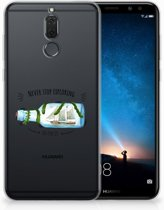 Huawei Mate 10 Lite Uniek TPU Hoesje Boho Bottle