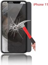Ntech Apple iPhone 11 Privacy Screenprotector Glass Anti Spy