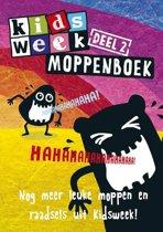 Kidsweek - Kidsweek moppenboek 2: Nog meer leuke moppen en raadsels uit Kidsweek