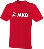 Jako - Functional shirt Promo Junior - rood - Maat 152