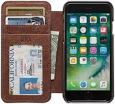 SENA Cases Heritage Wallet Book iPhone 6 / 6s cognac