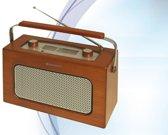Roadstar TRA-1958N Draagbaar Analoog Hout radio