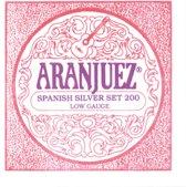 Aranjuez AR200 Nylon snaren Low tension klassieke gitaar