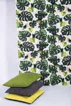DeGordijnenshop - Scandinavisch Design - Groen - Kant En Klaar Gordijn -  Afmeting 150cm x 300cm