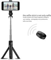 3 in 1 Selfie Stick met Afstandsbediening en Foldable Tripod Stand - Draadloos Smartphone Statief en Driepoot voor iPhone 8 / iPhone 8 Plus / iPhone X / iPhone 6 / 6S / 6 PLUS / Galaxy S9 / S9 Plus/ A8 2018 / Note 8 / S8 / S8+ Plus / S7 edge /