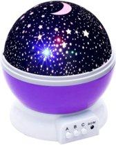 WiseGoods - Sterrenlamp - Sterrenprojector - Projector - Sterrenhemel Lamp - Kinder Nachtlamp - Nachtlamp - Baby Lamp - Sterrenzee 8 Verschillende Opties