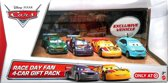 Disney Cars auto's race day cadeau set - 4 pack