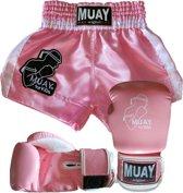 MUAY KiDs Set-Roze