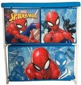 Marvel Spider-man 3 Opbergkast Met 3 Lades 60 Cm Blauw