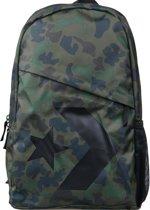 Converse Speed Backpack 10006641-A02, Unisex, Groen, Rugzak maat: One size EU