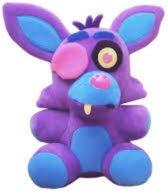 Five Nights at Freddy's Foxy the Pirate Fox (paars, Blacklight) 25cm pluche knuffel