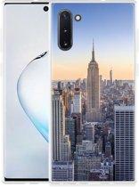 Galaxy Note 10 Hoesje Skyline NY