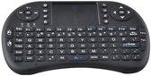 Mini-draadloos toetsenbord Black met Airmouse