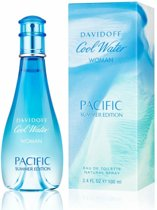 Davidoff Coolwater Pacific Summer Woman - Eau de Toilette - Damesgeur - 100 ml