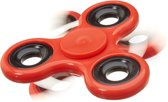 relaxdays - fidget spinner - tri-spinner 58g - hand spinner, anti-stress draaier rood