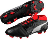 ONE 18.3 FG - Voetbalschoenen Heren - Black/Silver/Red Blast