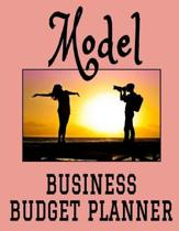 Model Business Budget Planner: 8.5'' x 11'' Professional Modeling 12 Month Organizer to Record Monthly Business Budgets, Income, Expenses, Goals, Marke