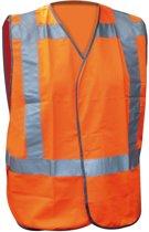 Verkeersvest fluor oranje XL/2XL