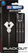 Winmau Blackout steeltip dartpijlen 22gr