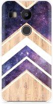 LG Nexus 5X Hoesje Space wood