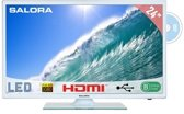 Salora 24LED2615DW - Led-tv-/dvd-speler - 24 inch - Full HD - Wit