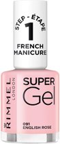 Rimmel London Super Gel French Manicure -  English Rose - Gel Nagellak