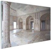 Fort van Agra India Glas 120x80 cm - Foto print op Glas (Plexiglas wanddecoratie)