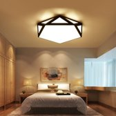 18W moderne minimalistische warme woonkamer Master slaapkamer LED plafond licht  diameter: 42x42cm (warm wit)