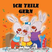 Ich teile gern (German Book for Kids) I Love to Share