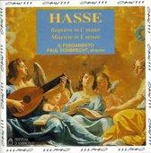 Hasse: Requiem, Miserere / Dombrecht, Il Fondamento