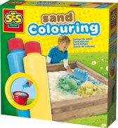 SES Zand kleuren blauw-geel