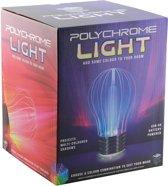 Polychrome Light - USB Gloeilamp met LED-verlichting - Tafellamp - Nachtlamp