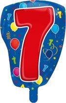 Cijfer 7 Folieballon 56cm