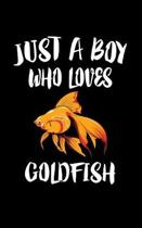 Just A Boy Who Loves Goldfish
