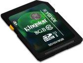 Kingston SD kaart 8GB