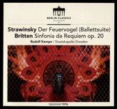 Stravinsky/Britten: Firebird Suite/Sinfonia Da Req