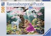Ravensburger Sprookjesachtige ontmoeting - Puzzel van 500 stukjes